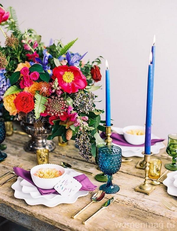 Нестандартные идеи свадебного декора