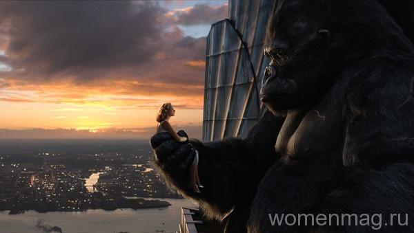 Энн Дэрроу и Кинг Конг в фильме Кинг Конг / King Kong (2005)