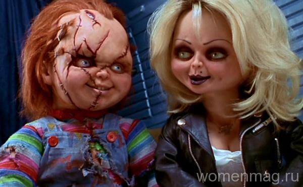 Страшные куклы Чаки и Тиффани в фильме Невеста Чаки / Bride of Chucky (1998)