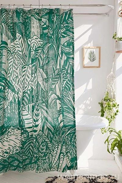 Растения в ванной комнате