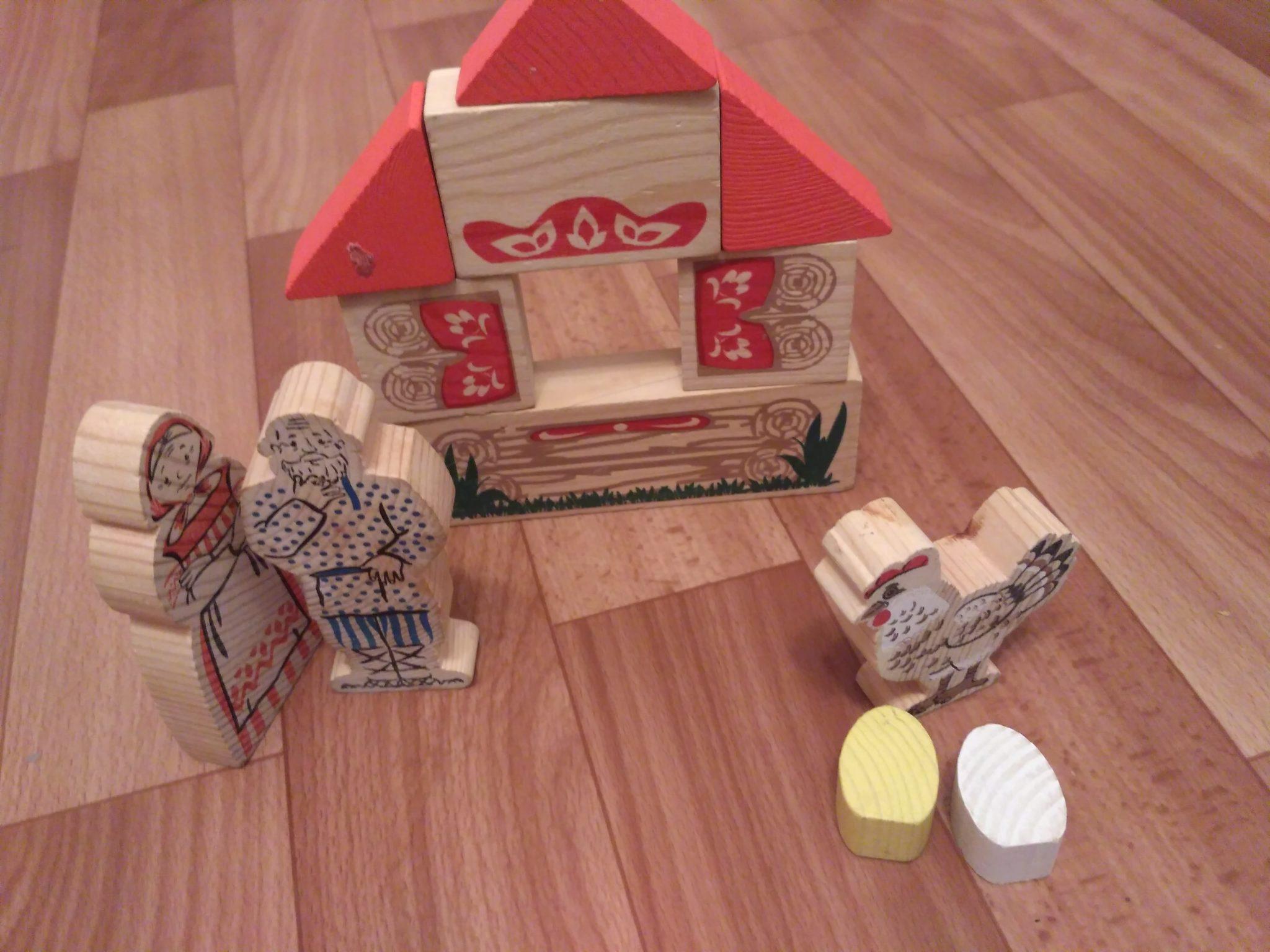 Деревянные игрушки фирмы Томик