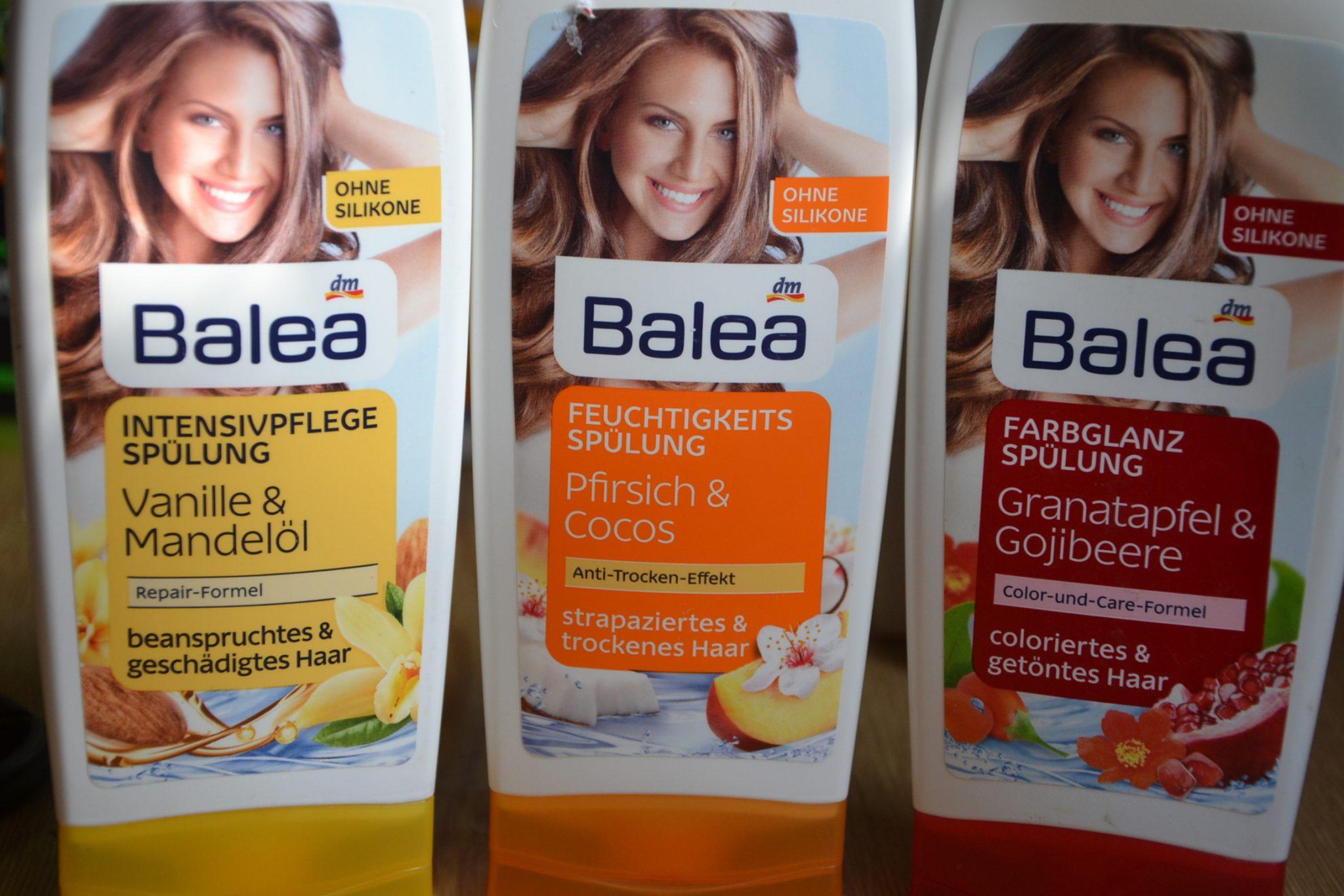 Бюджетная косметика для волос Balea. Германия.