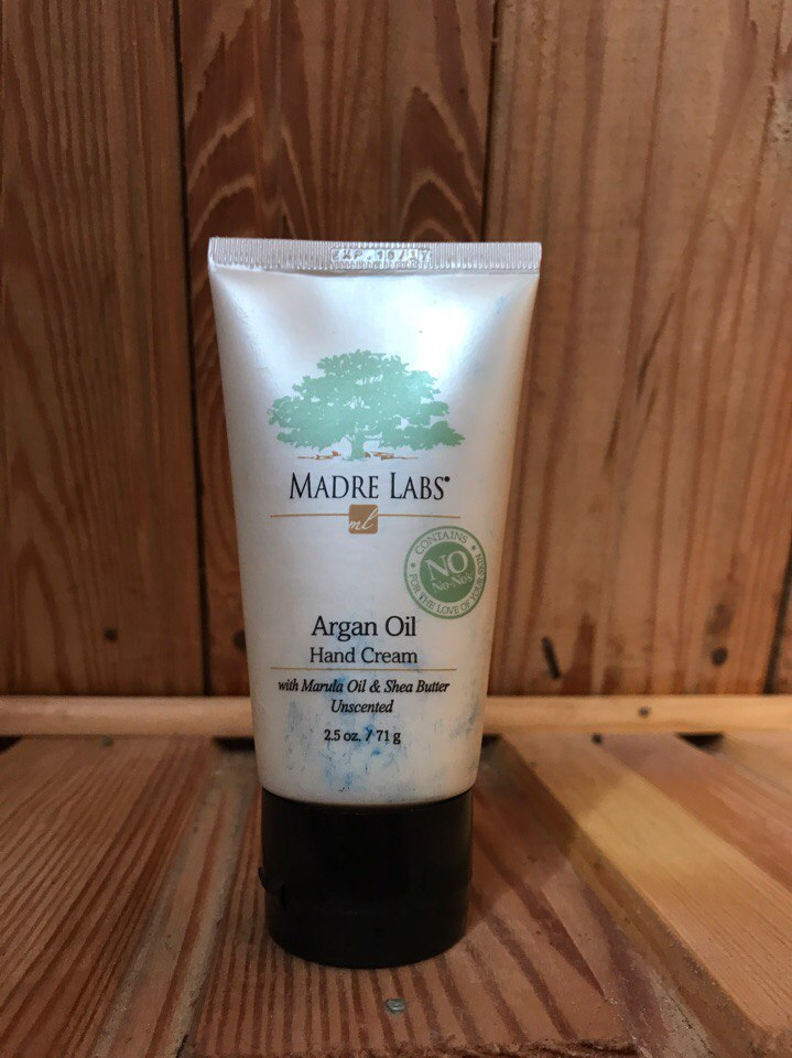 Крем для рук Madre labs Hand Cream with Argan Nut Oil. Отзыв