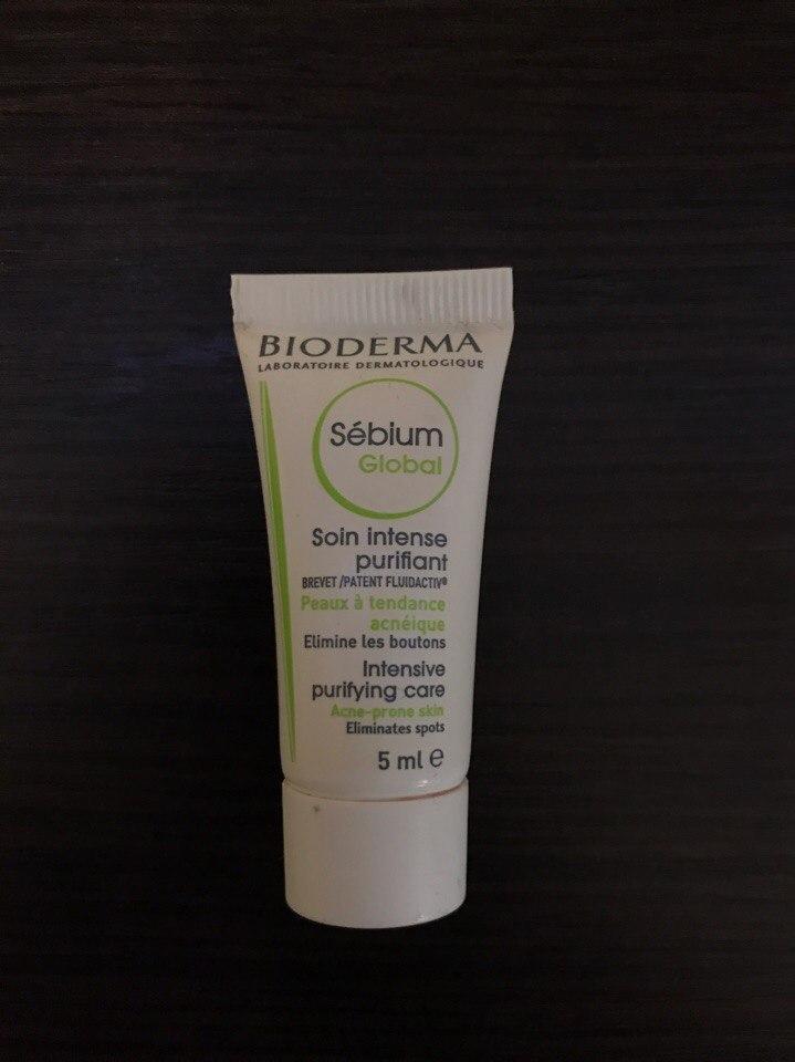Крем для проблемной кожи Bioderma Sebium Global. Отзыв
