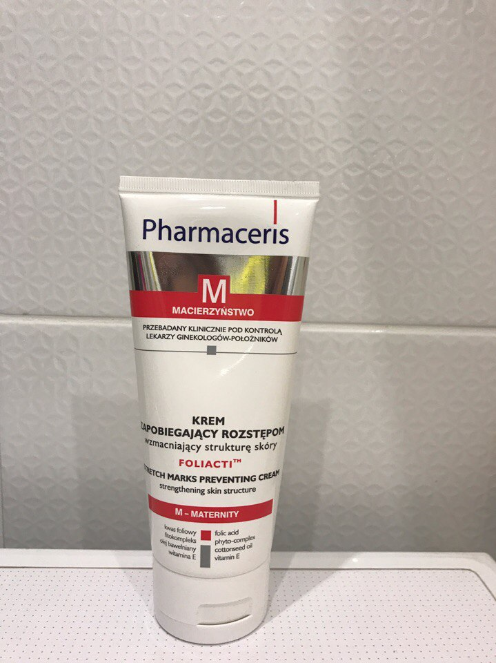 Крем от растяжек Pharmaceris М foliacti stretch mark prevention cream. Отзыв