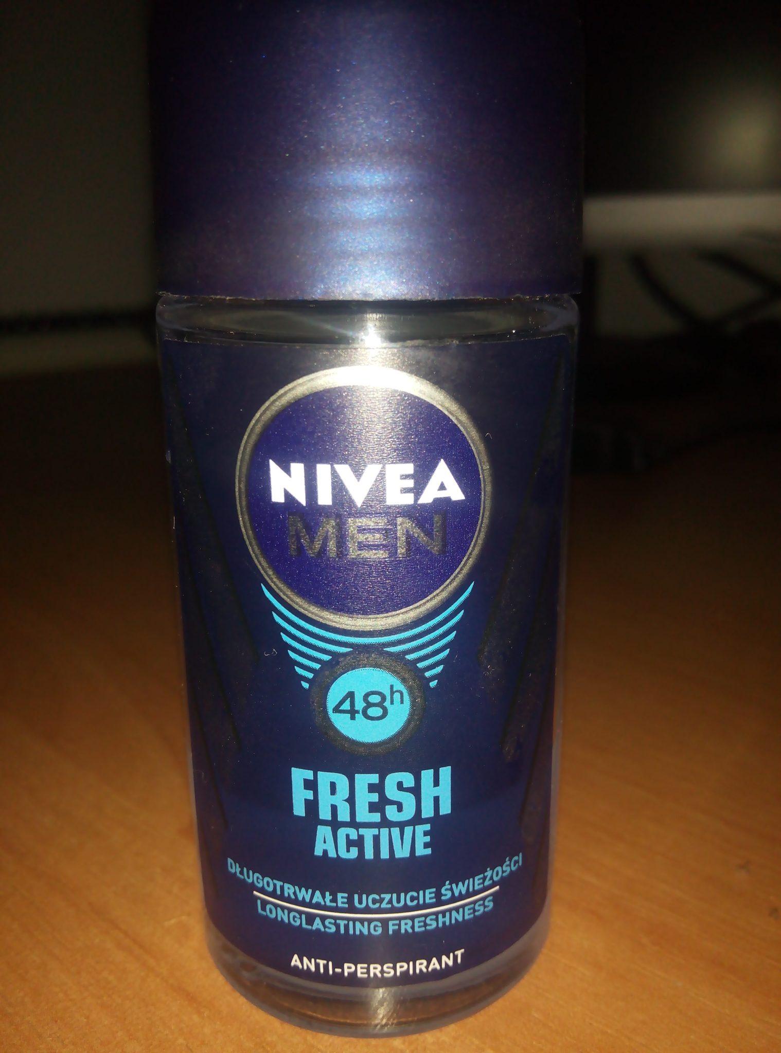 Дезодорант шариковый антиперспирант «Заряд свежести» для мужчин от Nivea