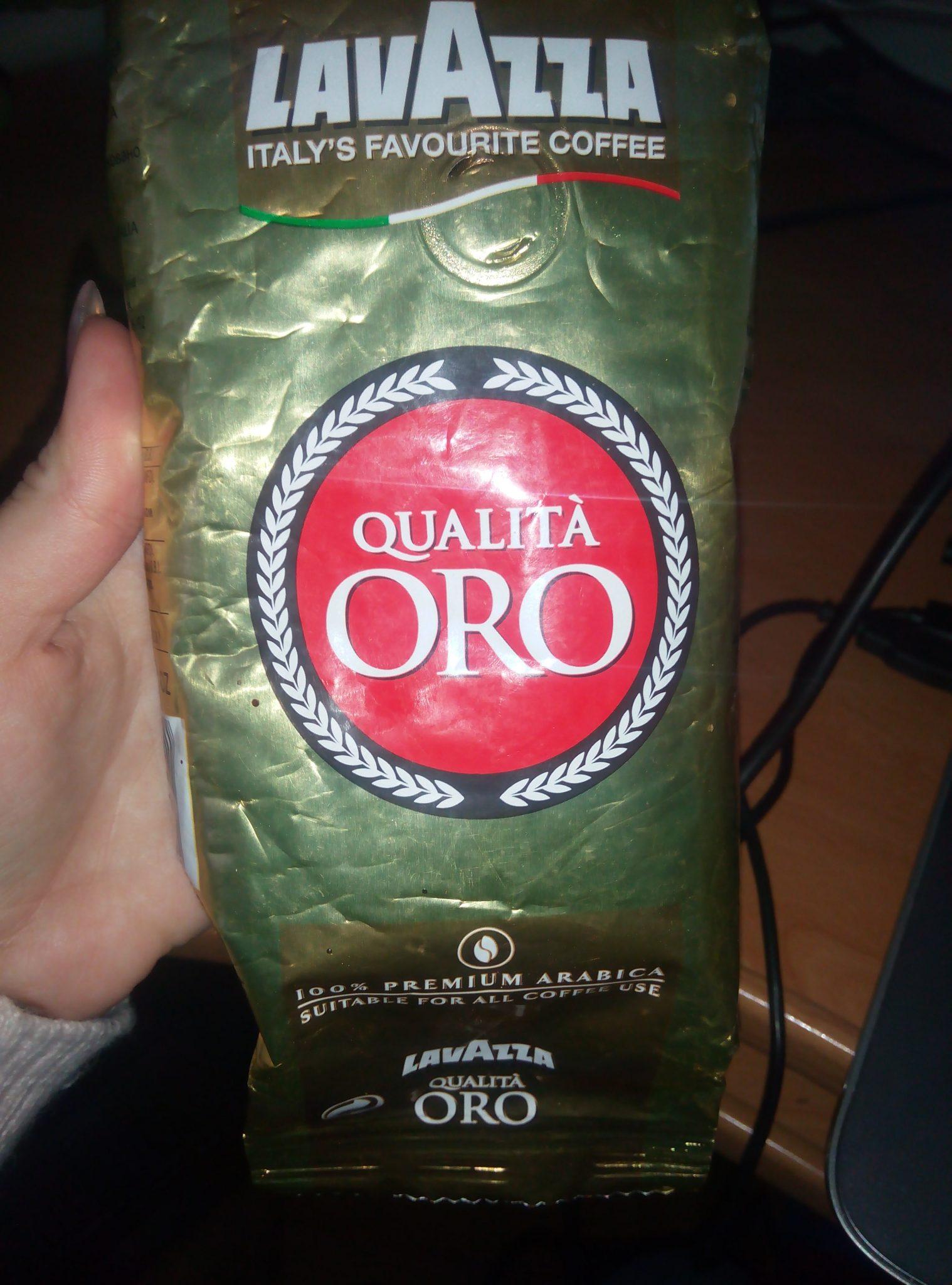 Кофе в зернах «Lavazza Qualita Oro»