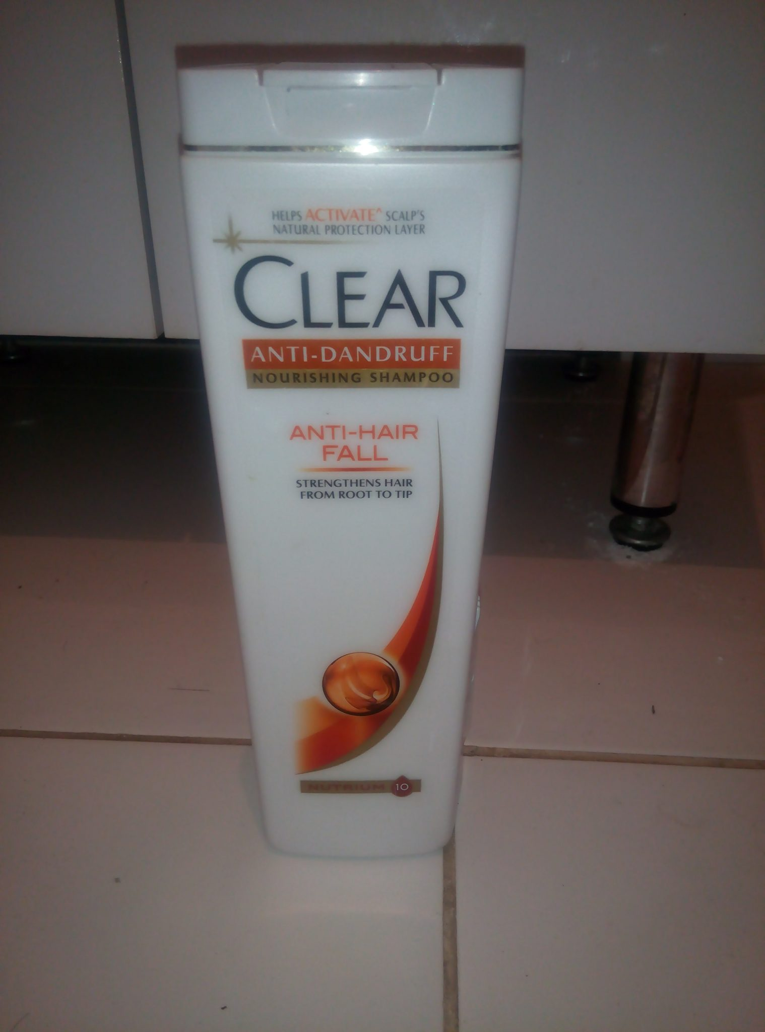 Шампунь Clear Vita Abe против перхоти  для женщин «Защита от выпадения волос»