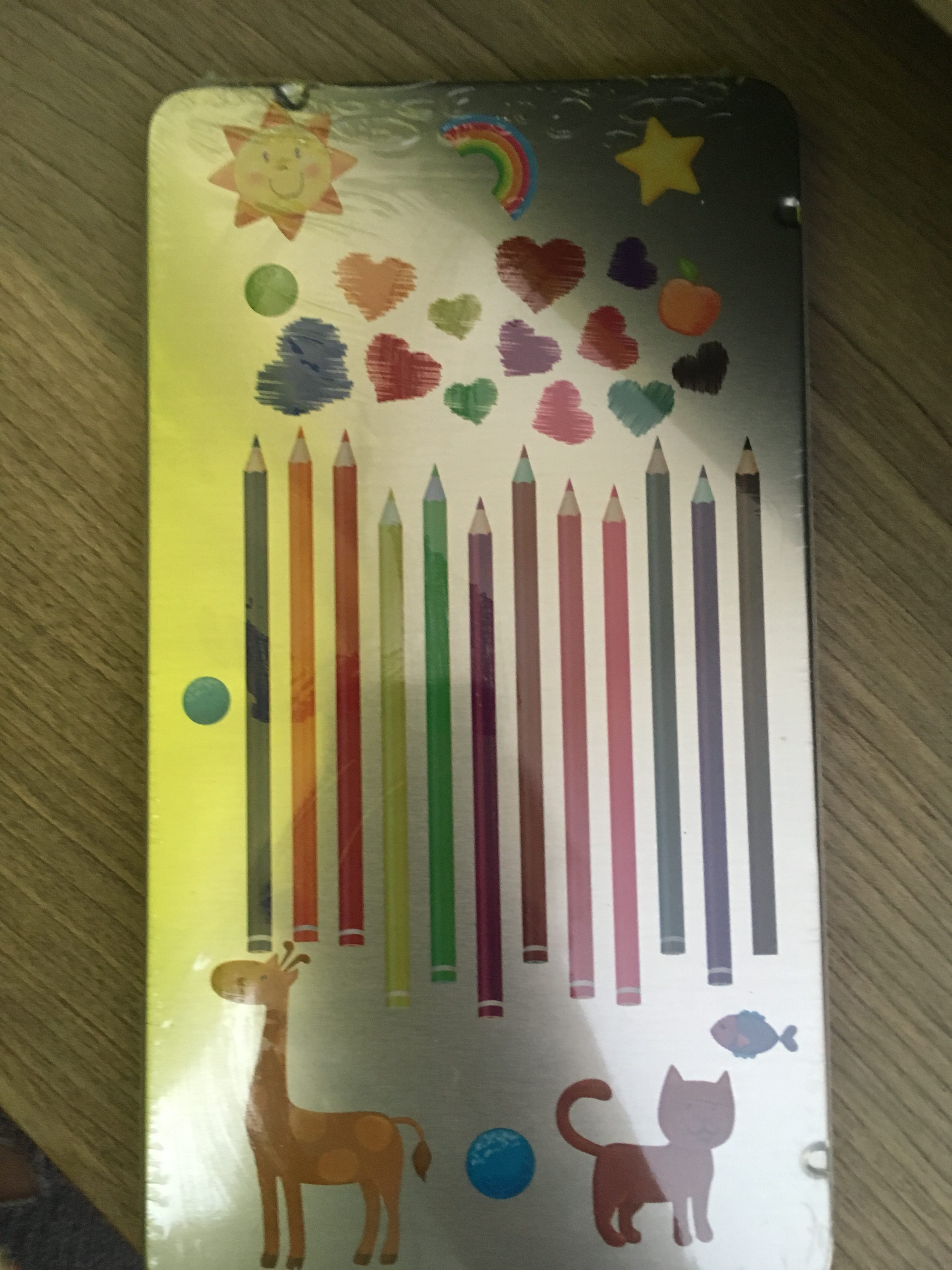 Карандаши цветные 12 штук Kids Fantasy. Отзыв.