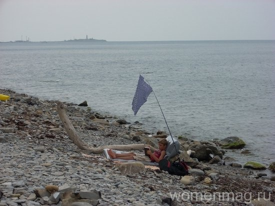 Рядом с пляжем в Сукко