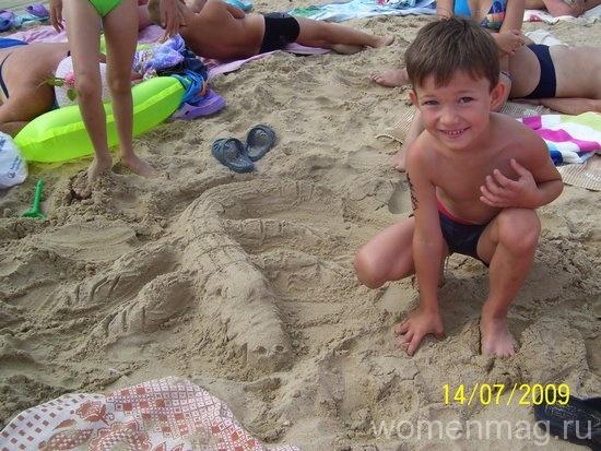 Вот такие фигуры из песка