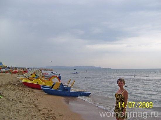 Море перед дождем