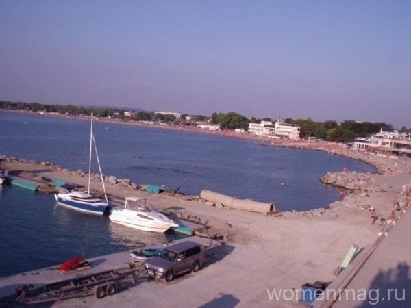 Вид с Набережной Анапы