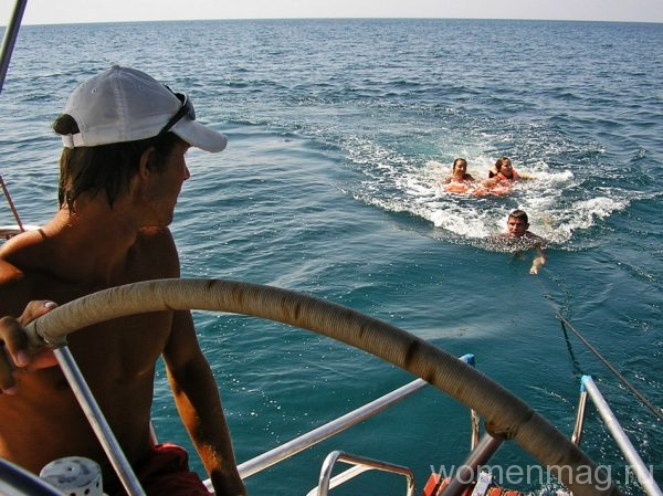 Развлечение Пират на яхте в Черном море