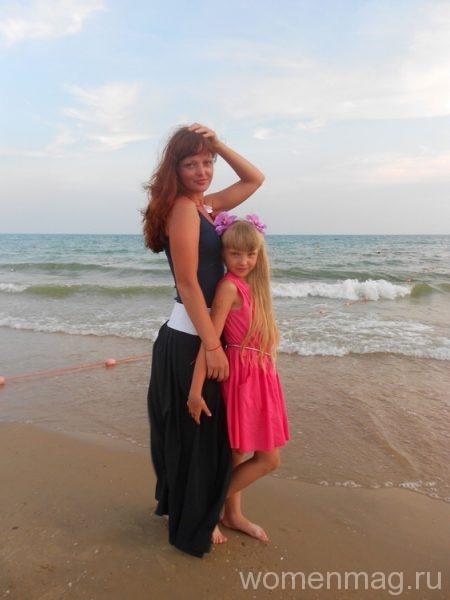 Ранний вечер на море в Витязево