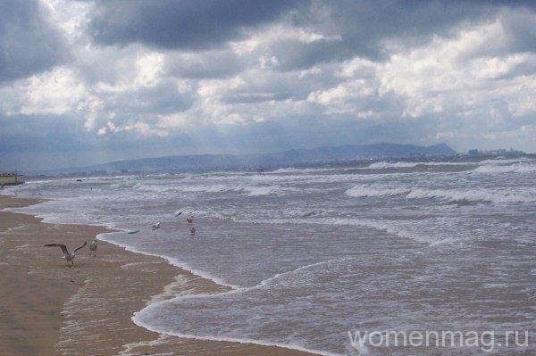 Витязево, плохая погода в начале сентября 2013