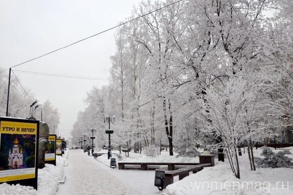 Бульвар имени Пушкина в Донецке