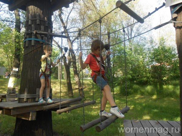 Веревочный парк «Лень в пень» в Донецке