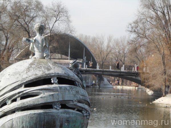 Парк имени Лазаря Глобы в Днепропетровске