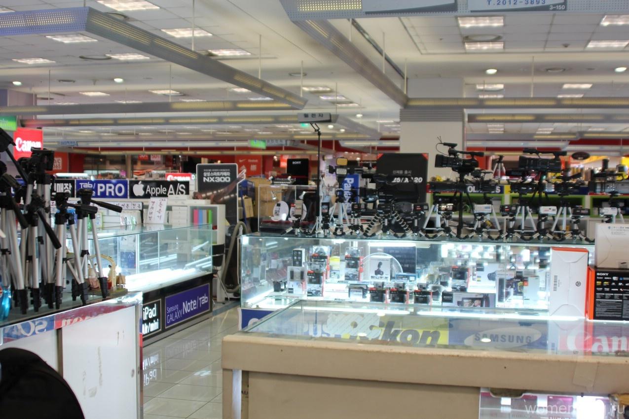 Магазин «Техномарт» в Сеуле