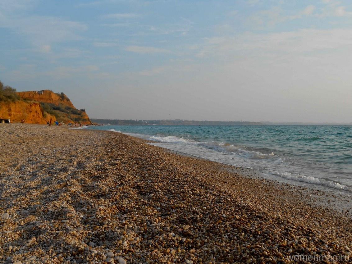Пляж в Любимовке (Севастополь)