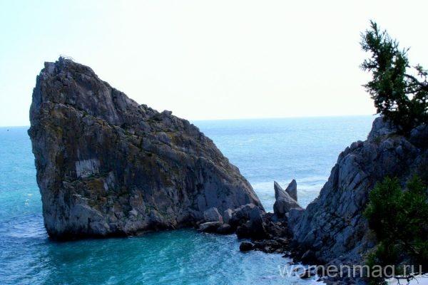 Гора Дива в поселке Симеиз в Крыму