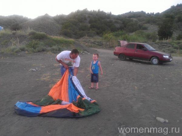 Кемпинг палаточный пгт Морской Крым
