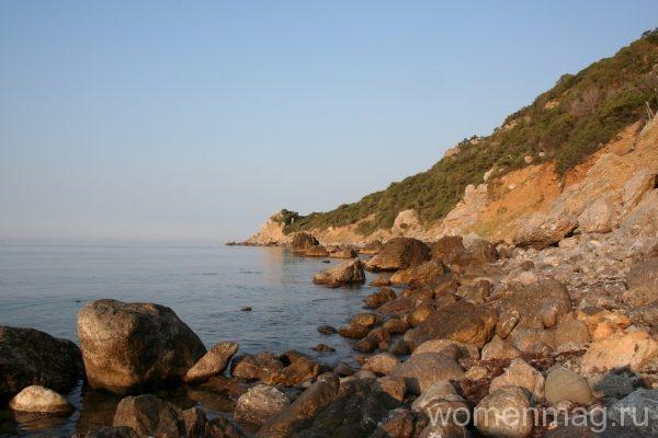 Природный заповедник Мыс Мартьян на южном берегу Крыма