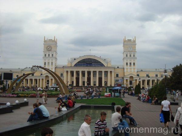 Привокзальная площадь в Харькове