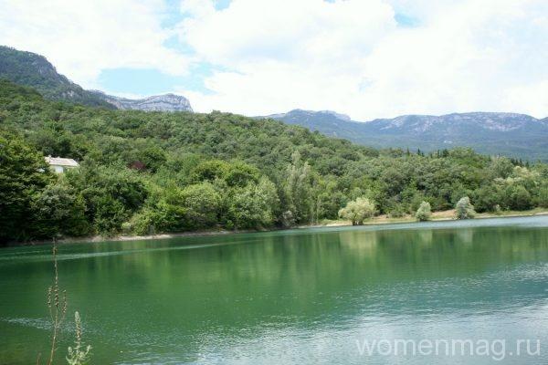 Озеро Ай-Ефим в Крыму
