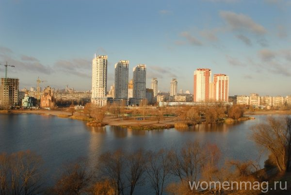 Озеро Тельбин в Киеве