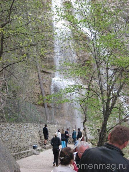 Водопад Учан-Су в Ялте