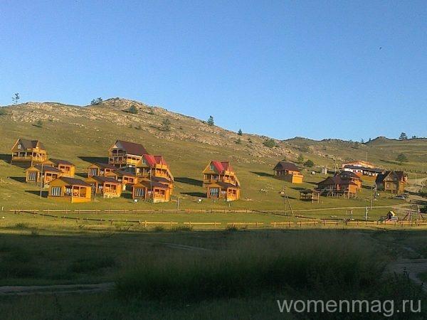 Бунгала в турбазе Баяр в Иркутской области