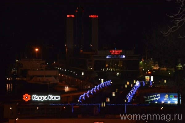 Ночная Одесса
