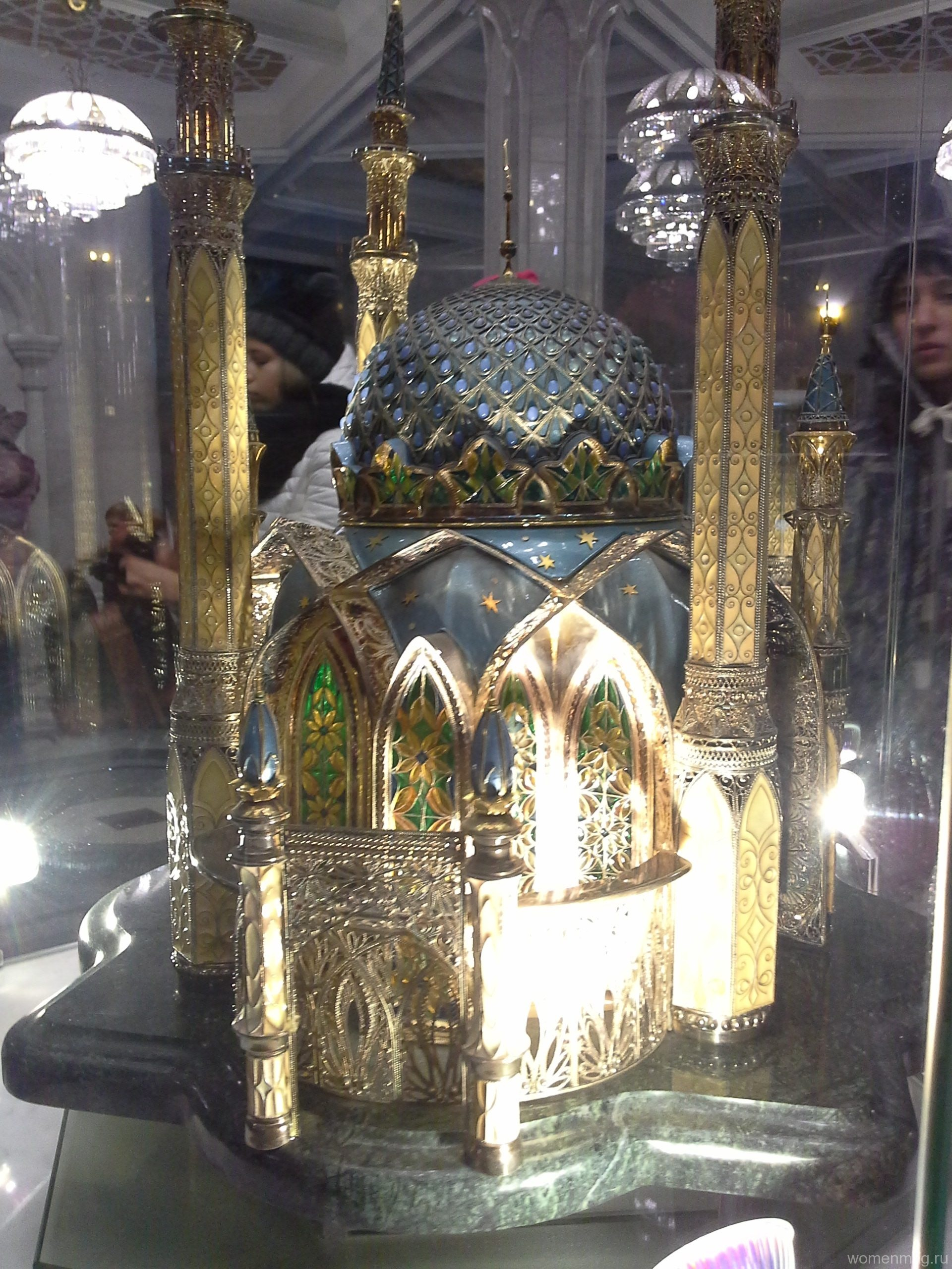 Подарок от Алмаз-Холдинг (мечеть Кул Шариф, Казань)