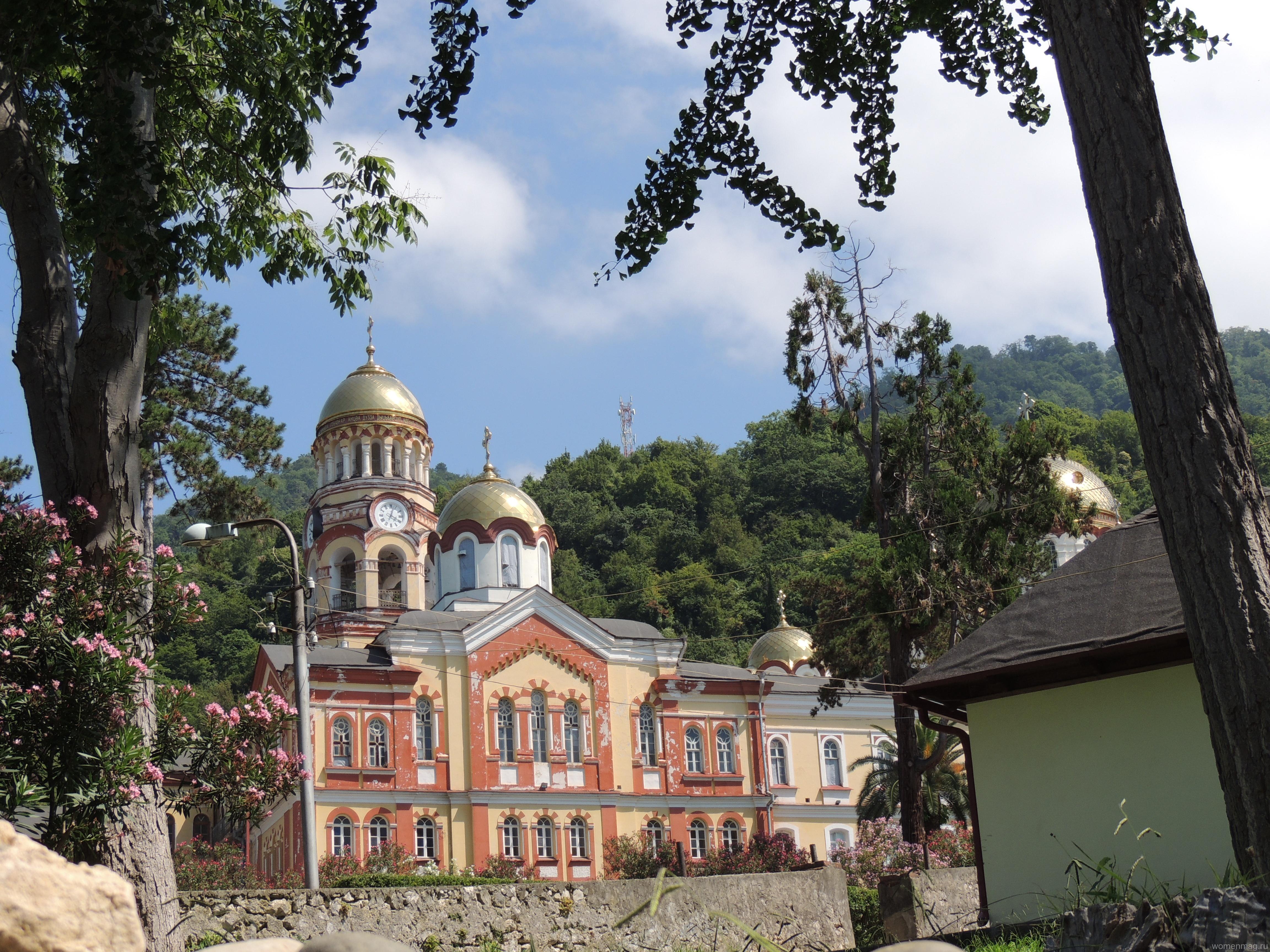 Новоафонский монастырь — дорога к небу