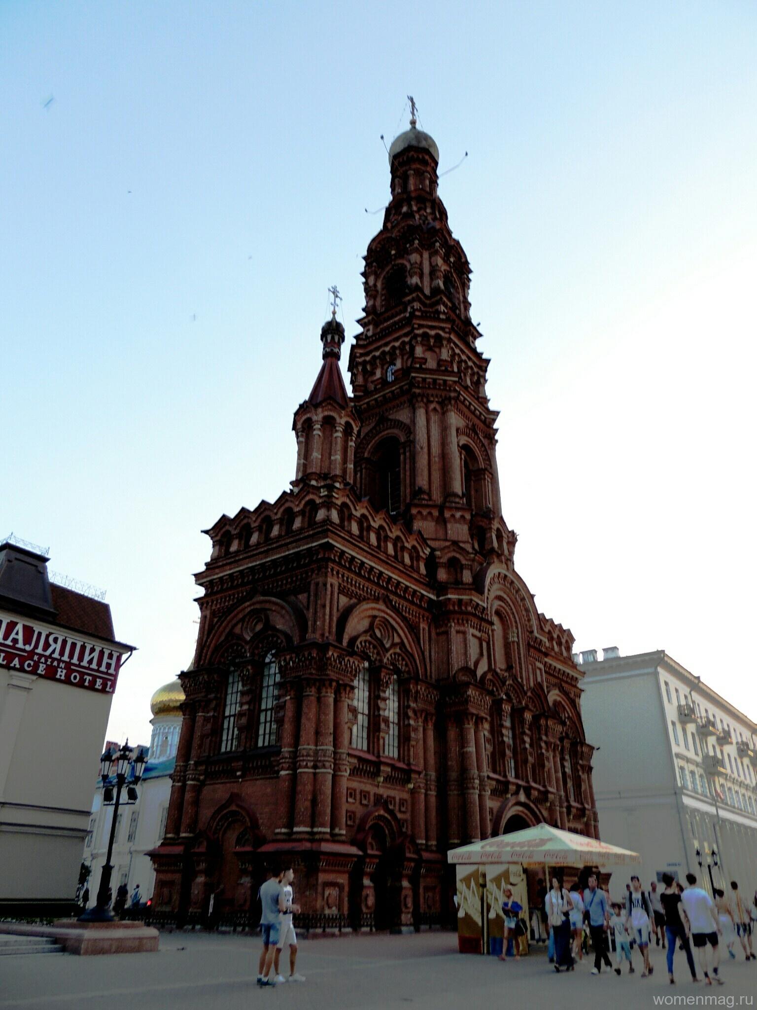 Богоявленская колокольня на Баумана в Казани