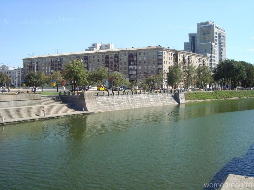 Река Лопань и Харьков