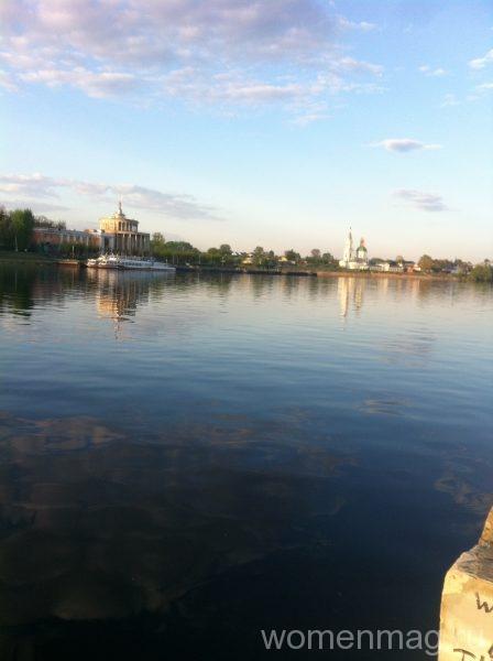 Тверь: Набережная реки Волга