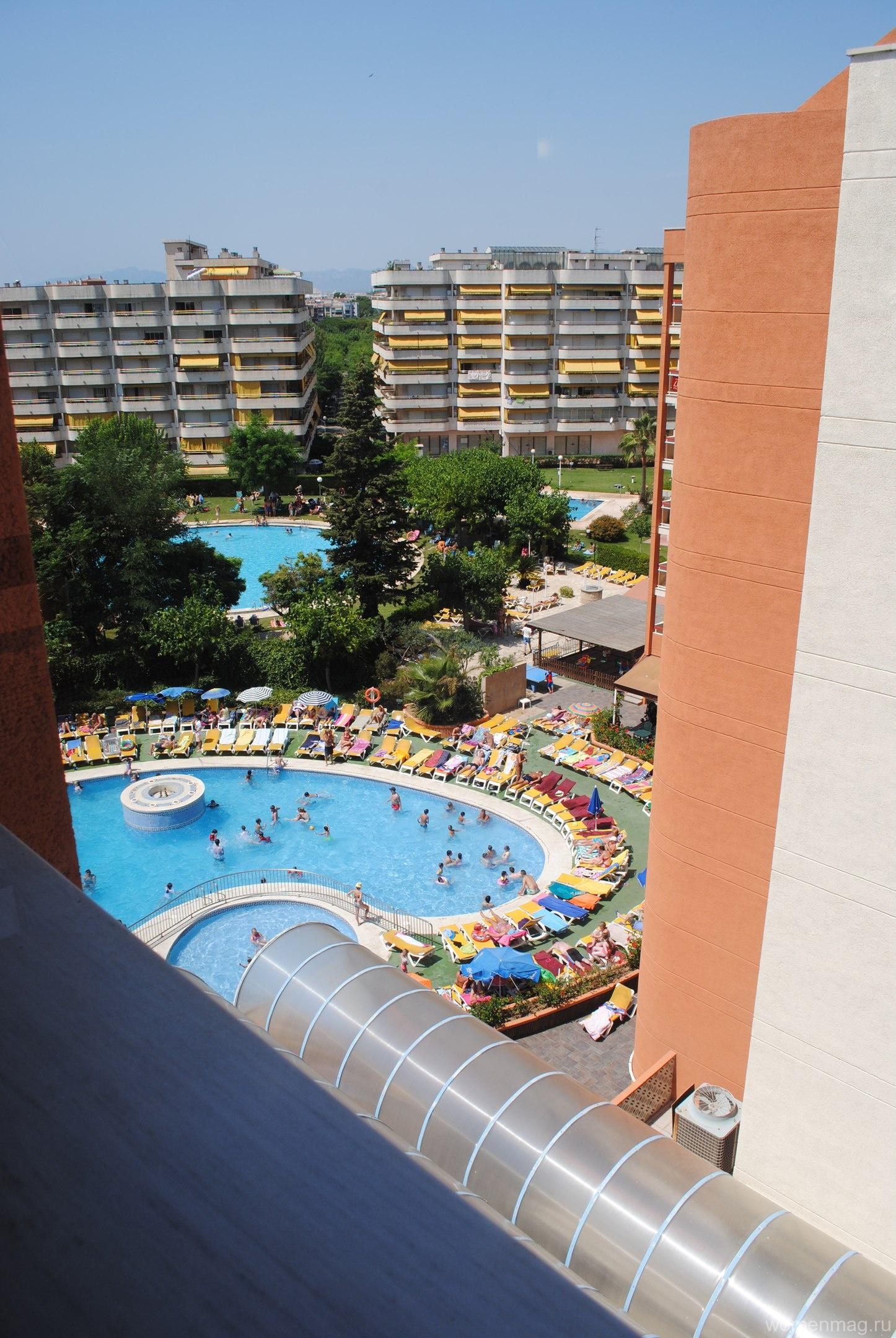 Отель Belveder в Салоу, Испания. Отзыв с фото