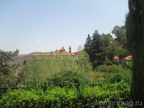 Панорама Киккского монастыря
