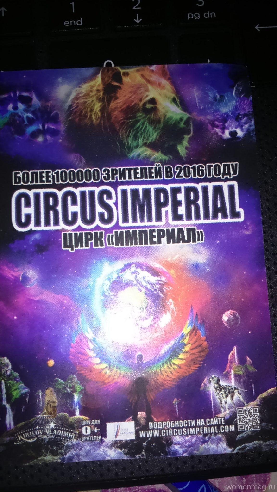 Цирк «Империал» — гости города Инсар. Отзыв