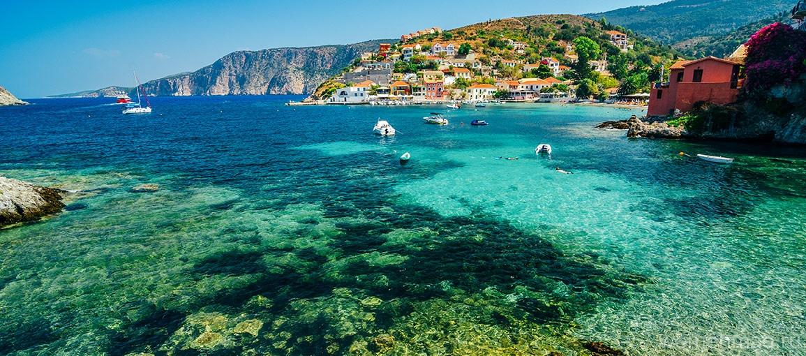 Отдых в Греции — Остров Кефалония