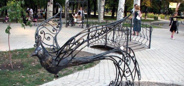 Парк кованых фигур, г. Донецк